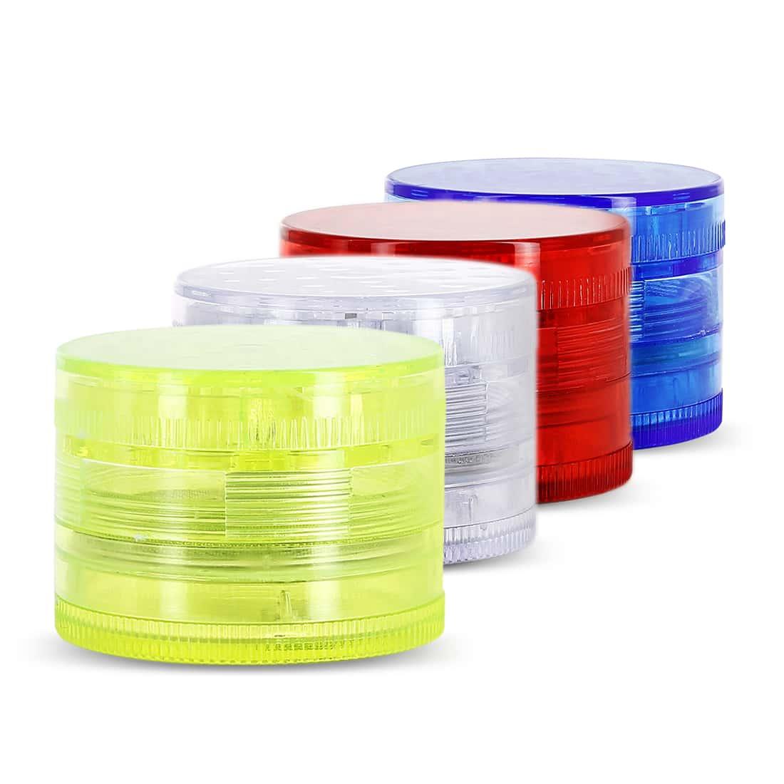 Photo de Grinder Acrylique 4 parties couleur transparent