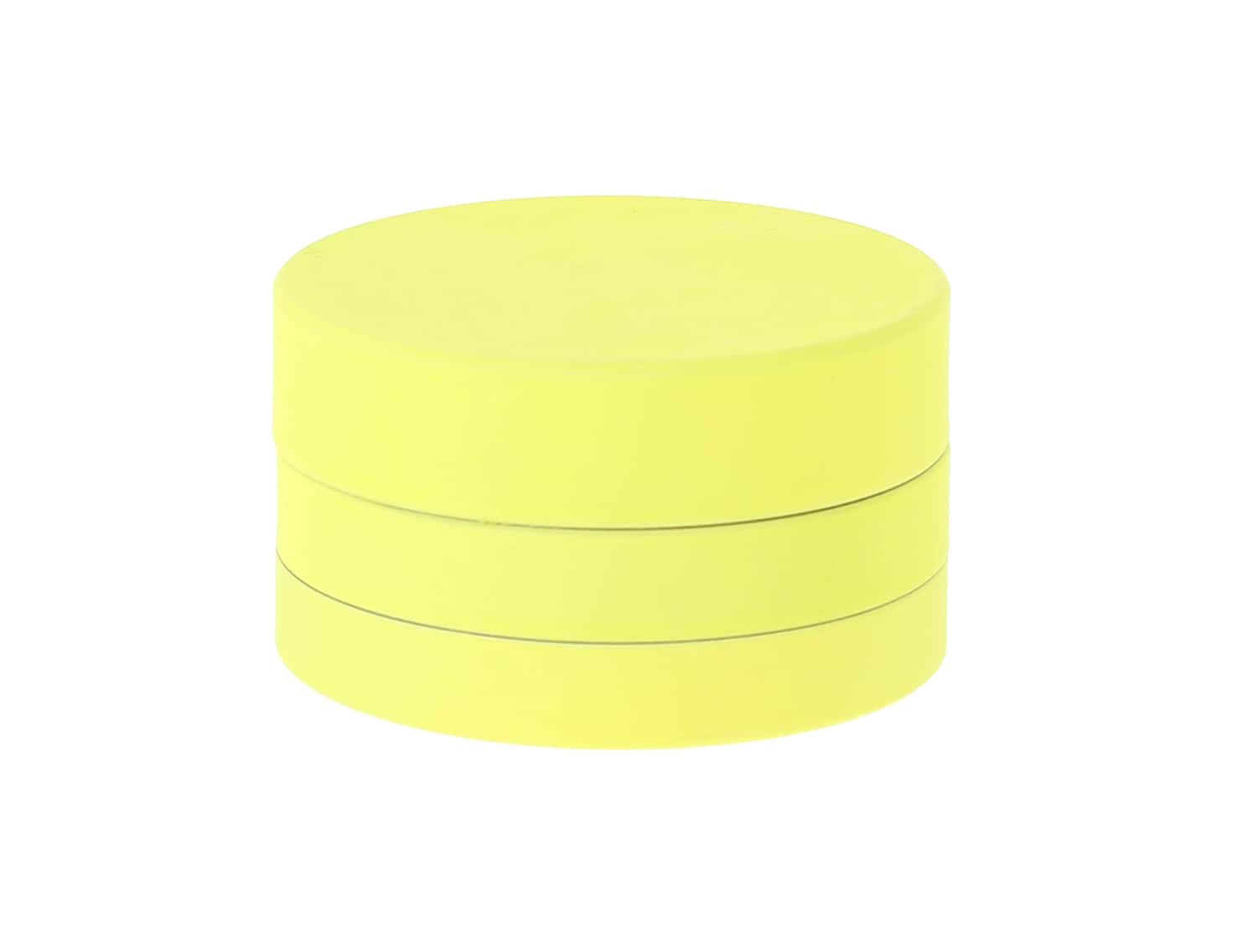 Photo de Grinder Jaune Soft Touch 3 parties 40mm