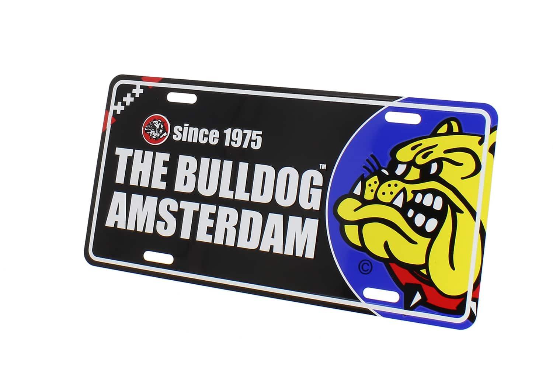 Photo de Plaque métal The Bulldog