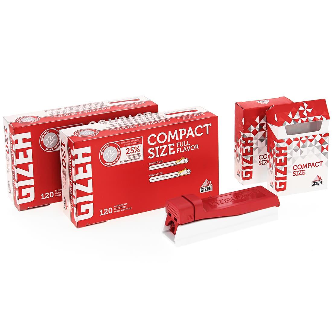 Photo de Machine à tuber Gizeh Compact Size avec tubes