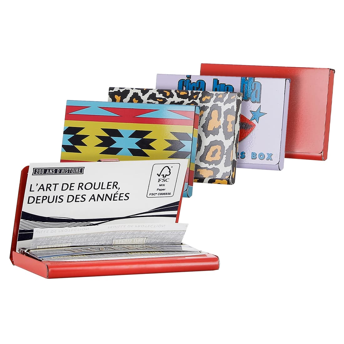Photo de Etui carnet feuille a rouler Regular