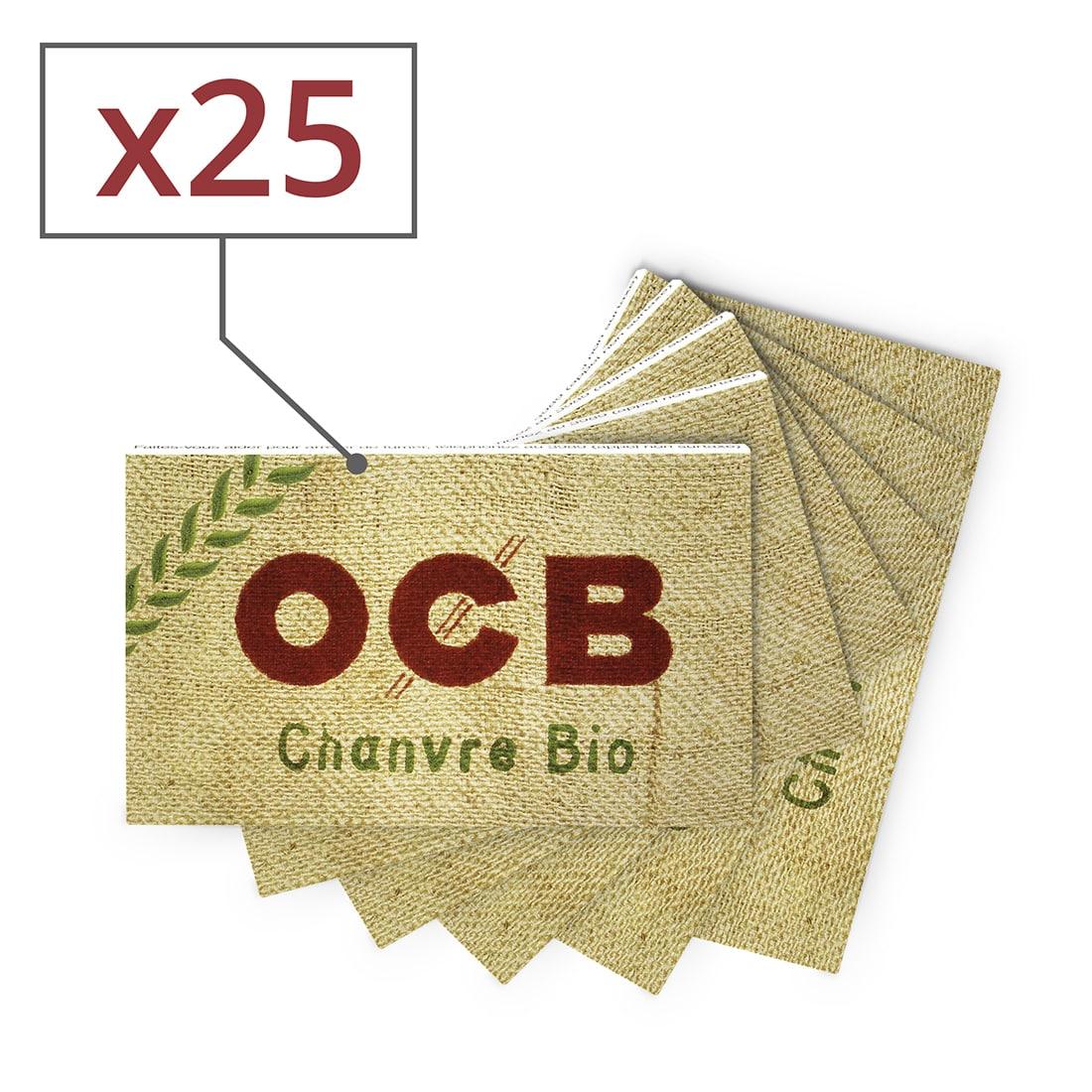 Photo de Papier à rouler OCB Chanvre Bio x 25