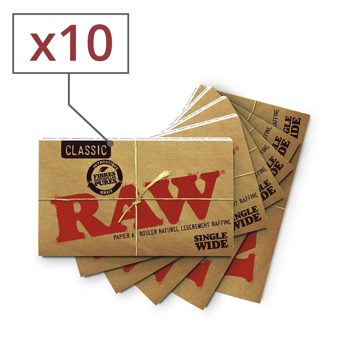 Photo de Papier à rouler Raw Regular x10