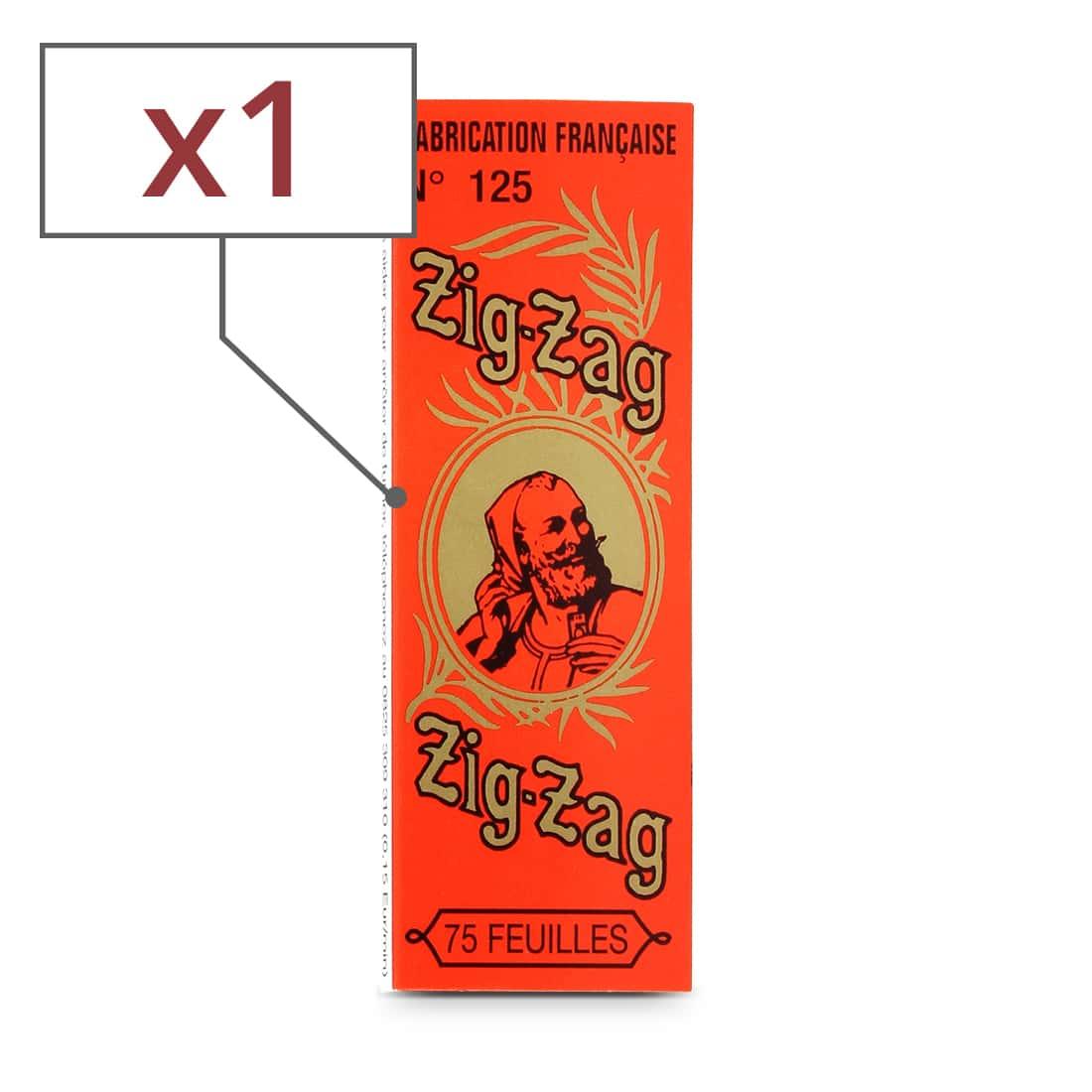 Photo de Papier à rouler Zig Zag Orange x 1