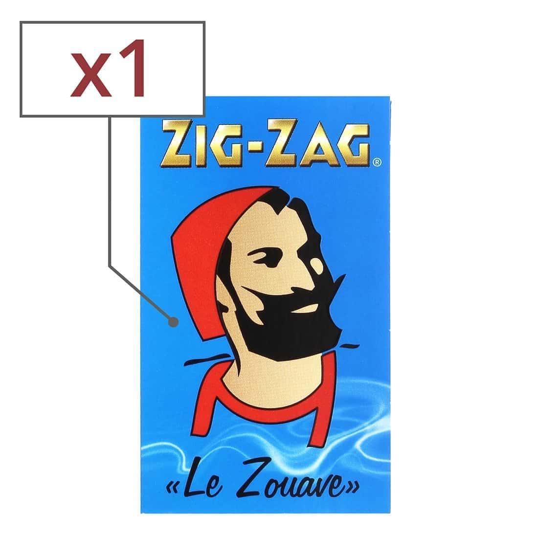 Photo de Papier à rouler Zig Zag Bleu x 1