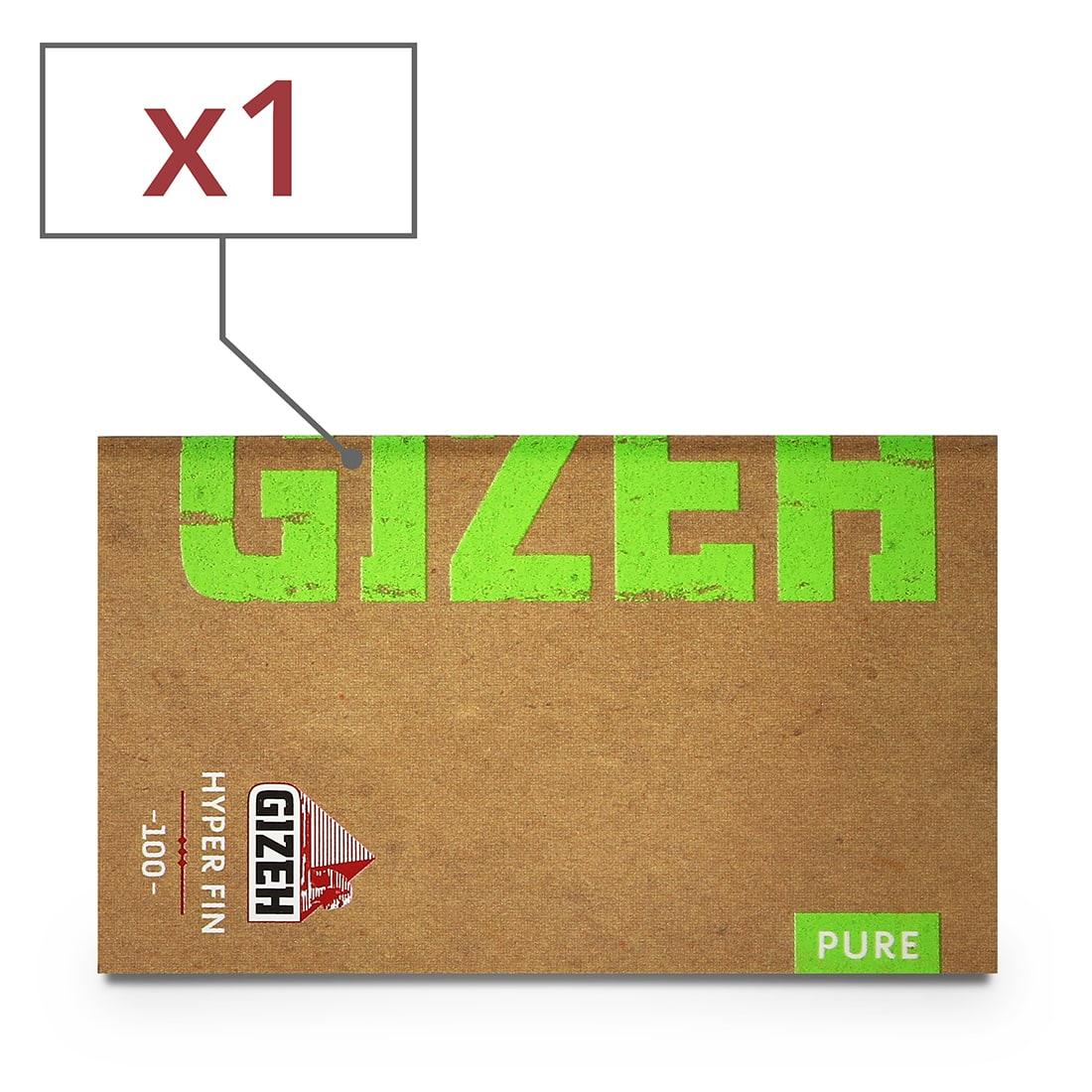 Photo de Papier à rouler Gizeh Pure Hyper Fin x 1