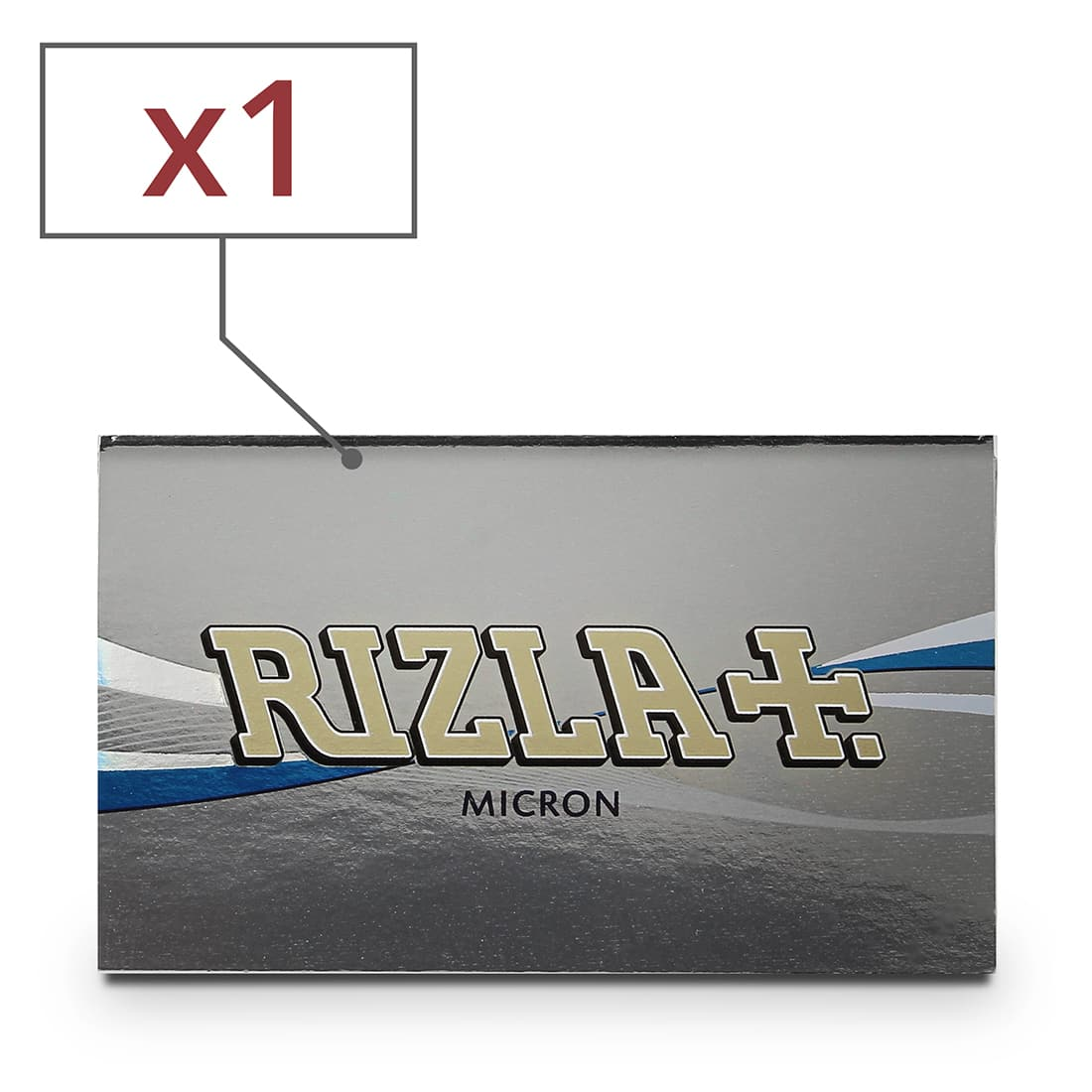 Photo de Papier à rouler Rizla + Micron x 1