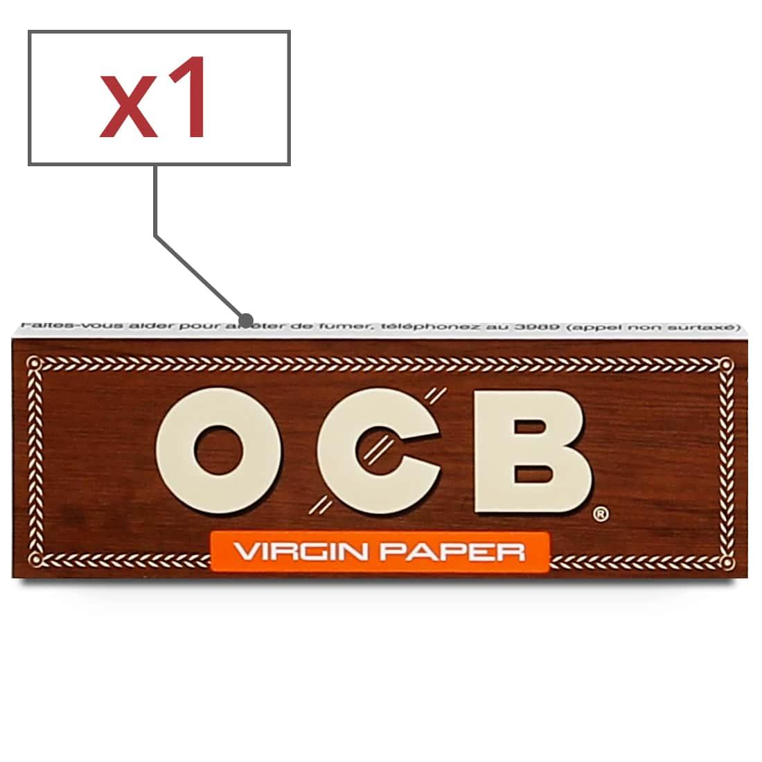 Photo de Papier a rouler OCB Virgin 1 1/4 x 1