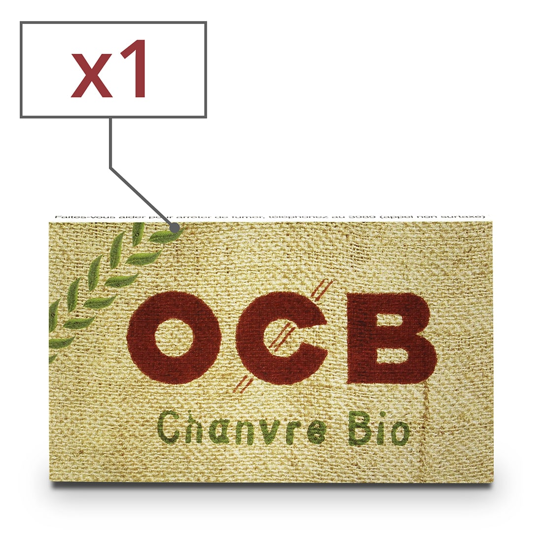 Photo de Papier à rouler OCB Chanvre Bio x 1