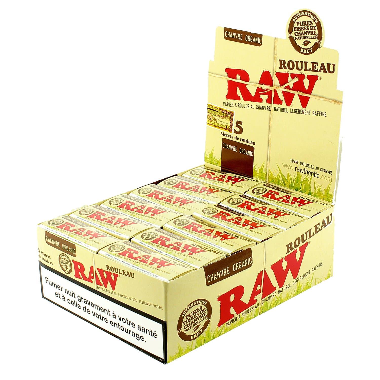 Photo de Papier à rouler Raw Rolls Organic X 24