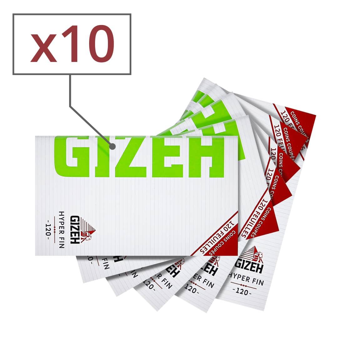 Photo de Papier à rouler Gizeh Hyper Fin x 10