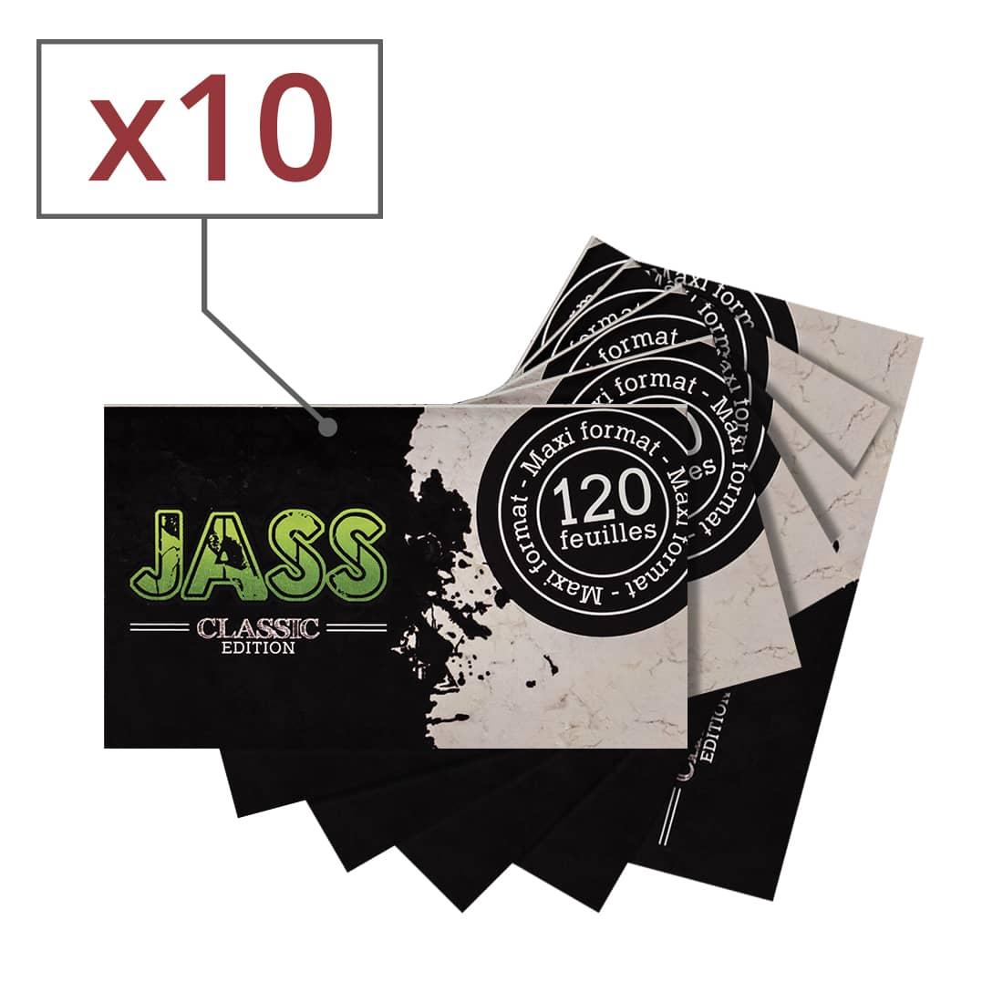 Photo de Papier à rouler Jass Classic Edition x 10