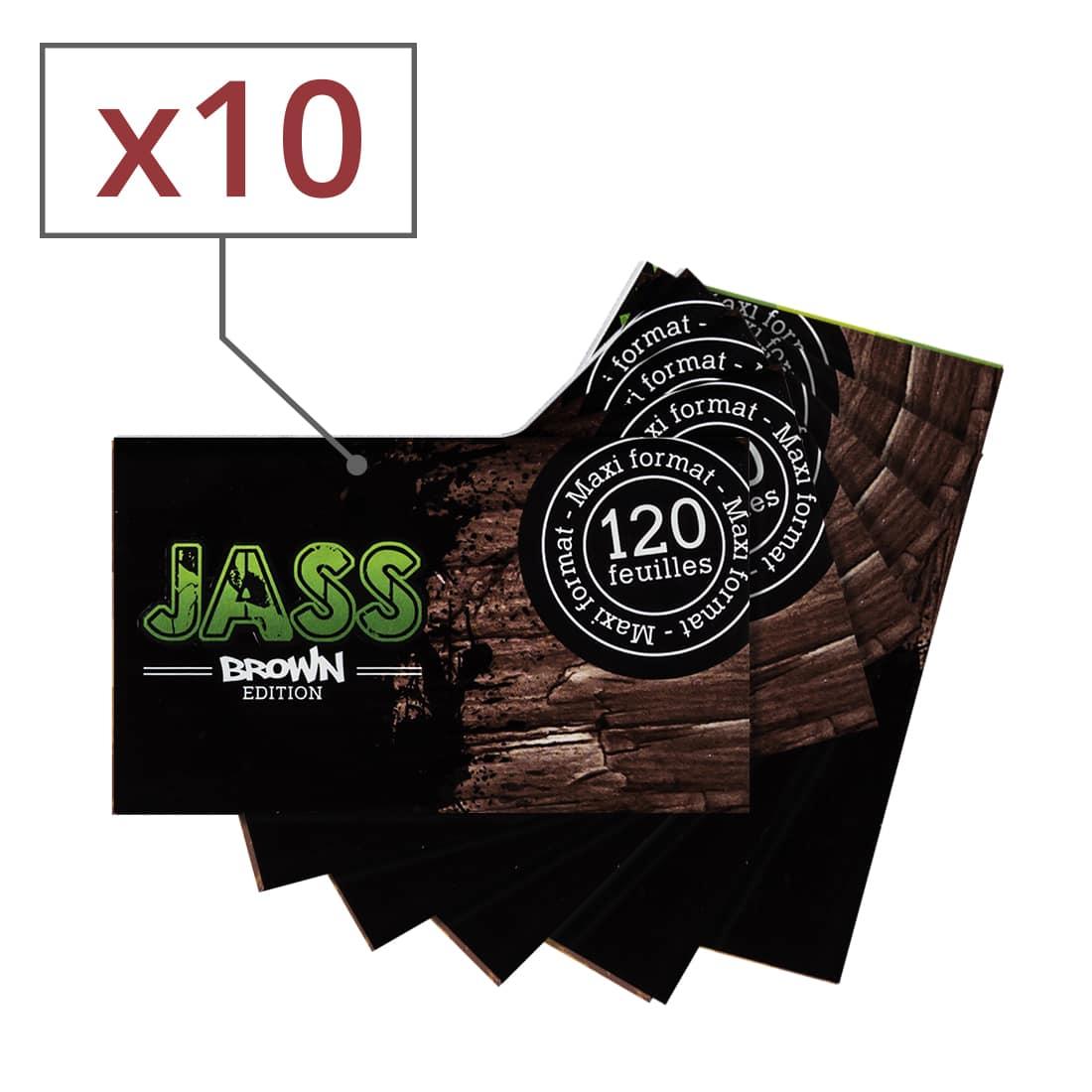 Photo de Papier à rouler Jass Brown x 10