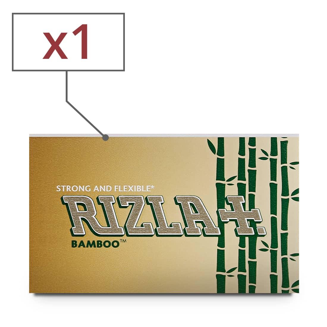 Photo de Papier à rouler Rizla + Bamboo x 1