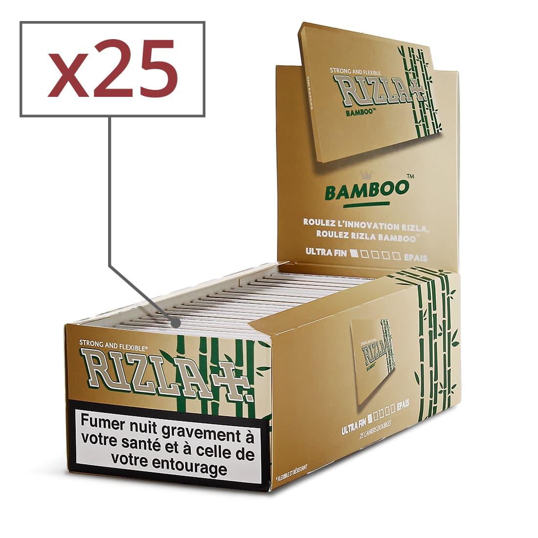 Photo de Papier à rouler Rizla + Bamboo x 25