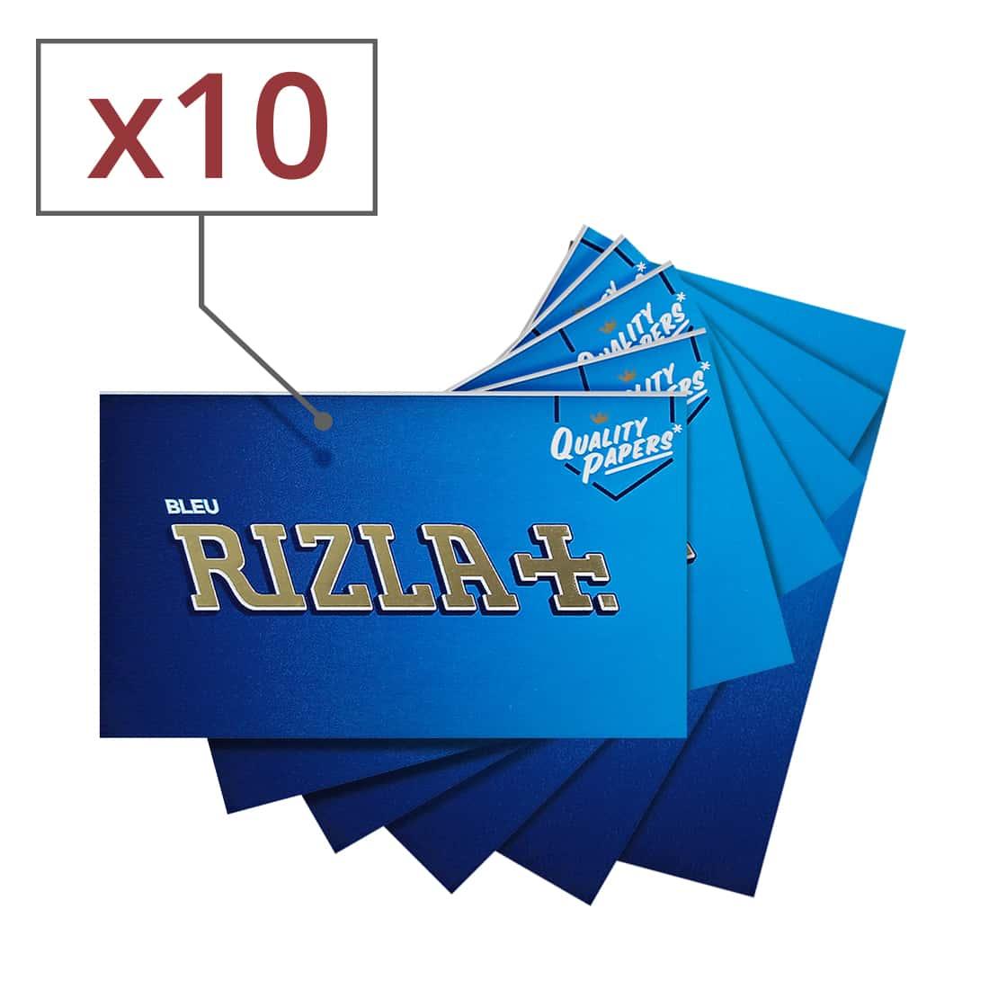 Photo de Papier à rouler Rizla bleu x10