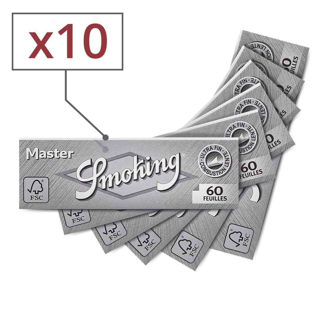 Photo de Papier à rouler Smoking Master x 10