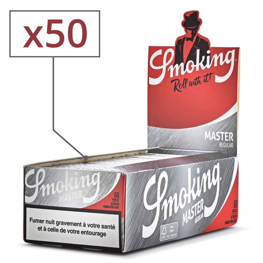 Photo de Papier à rouler Smoking Master x 50