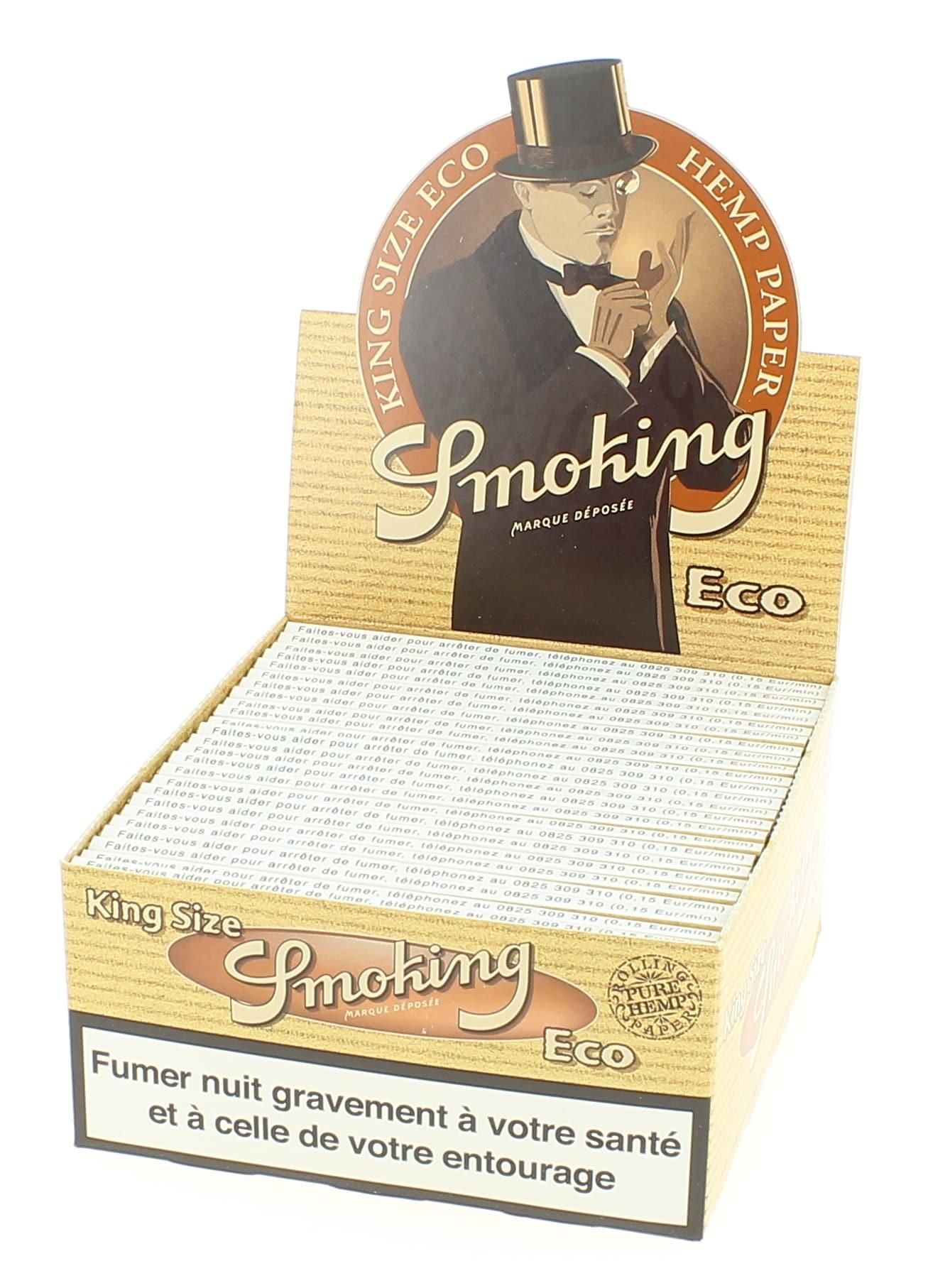 Photo de Papier à rouler Smoking Slim Eco x50
