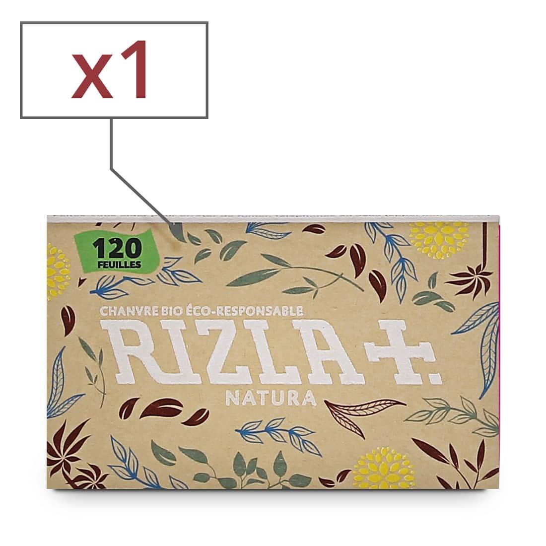 Photo de Papier à rouler Rizla + Natura x 1