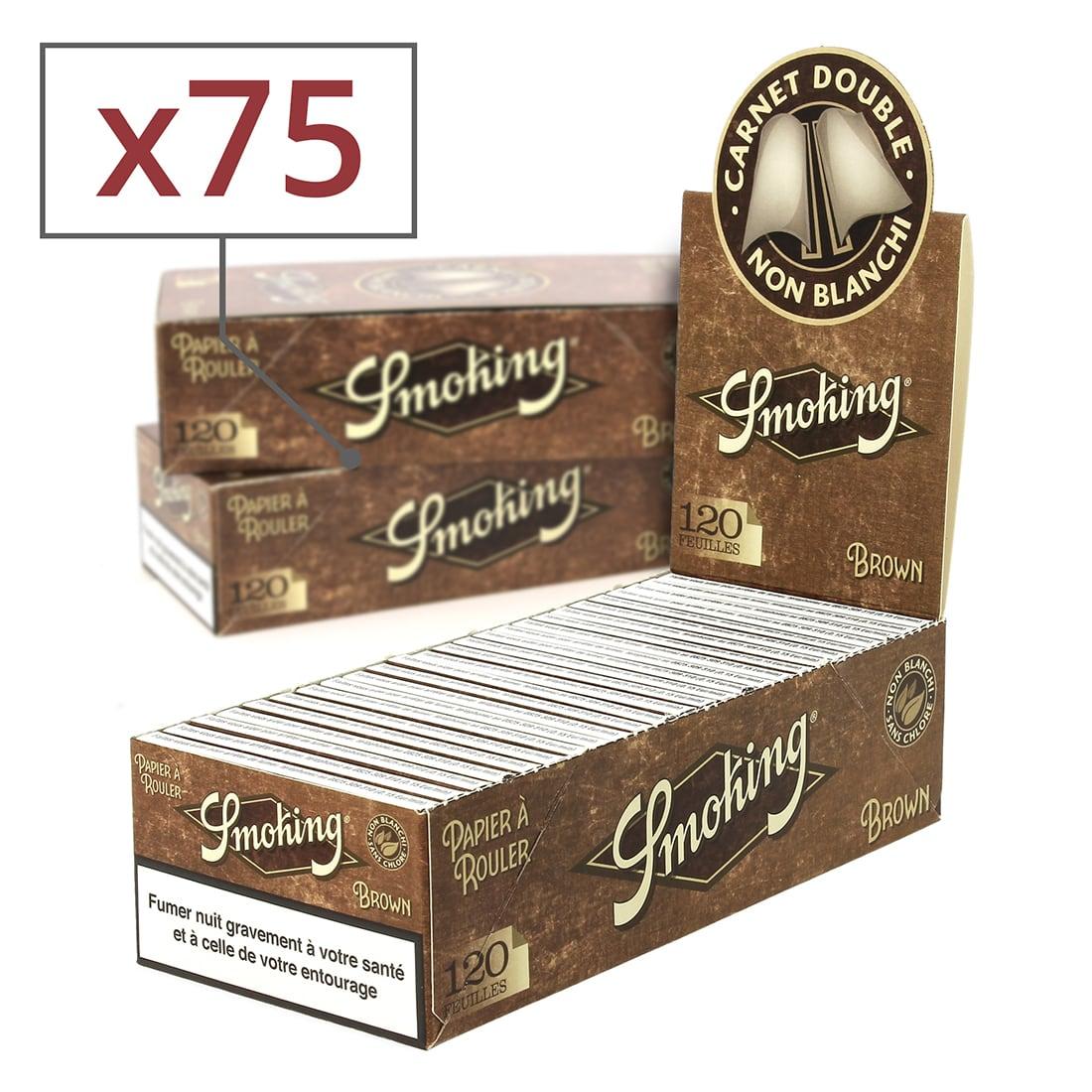 Photo de Papier à rouler Smoking Brown Régular x 25 PACK de 3