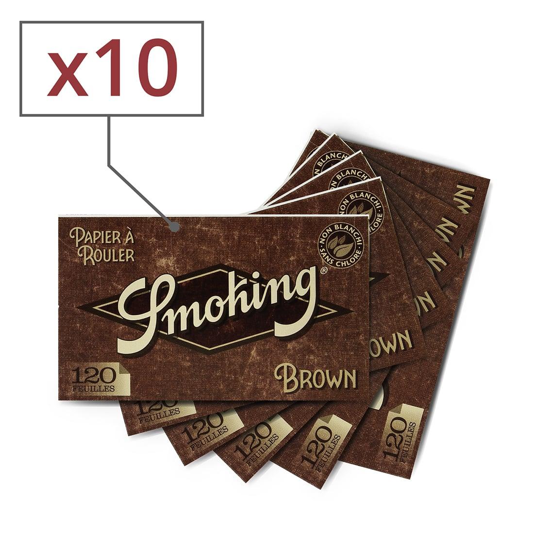 Photo de Papier à rouler Smoking Brown Régular x 10