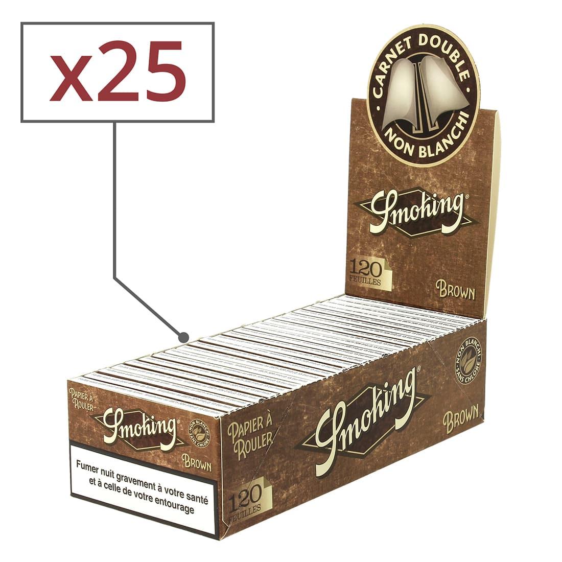 Photo de Papier à rouler Smoking Brown Régular x 25