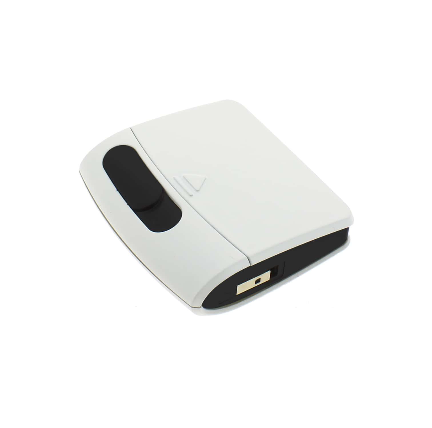 Photo de Briquet Sans Flamme USB Blanc Cendrier