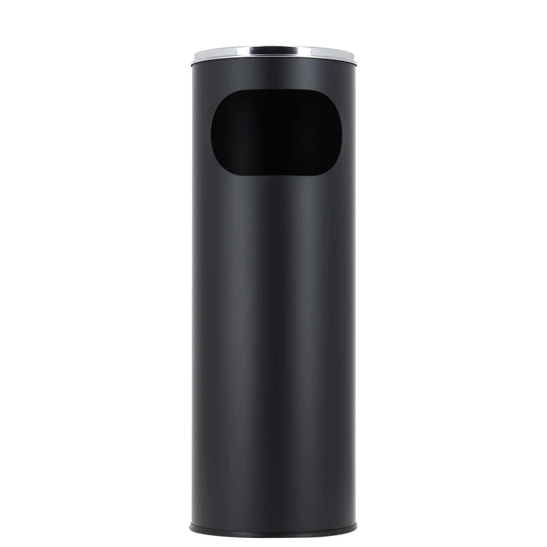 Photo de Cendrier poubelle XL noir