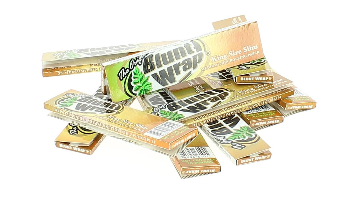 Photo de Papier à rouler Blunt Wrap Gold Slim x10