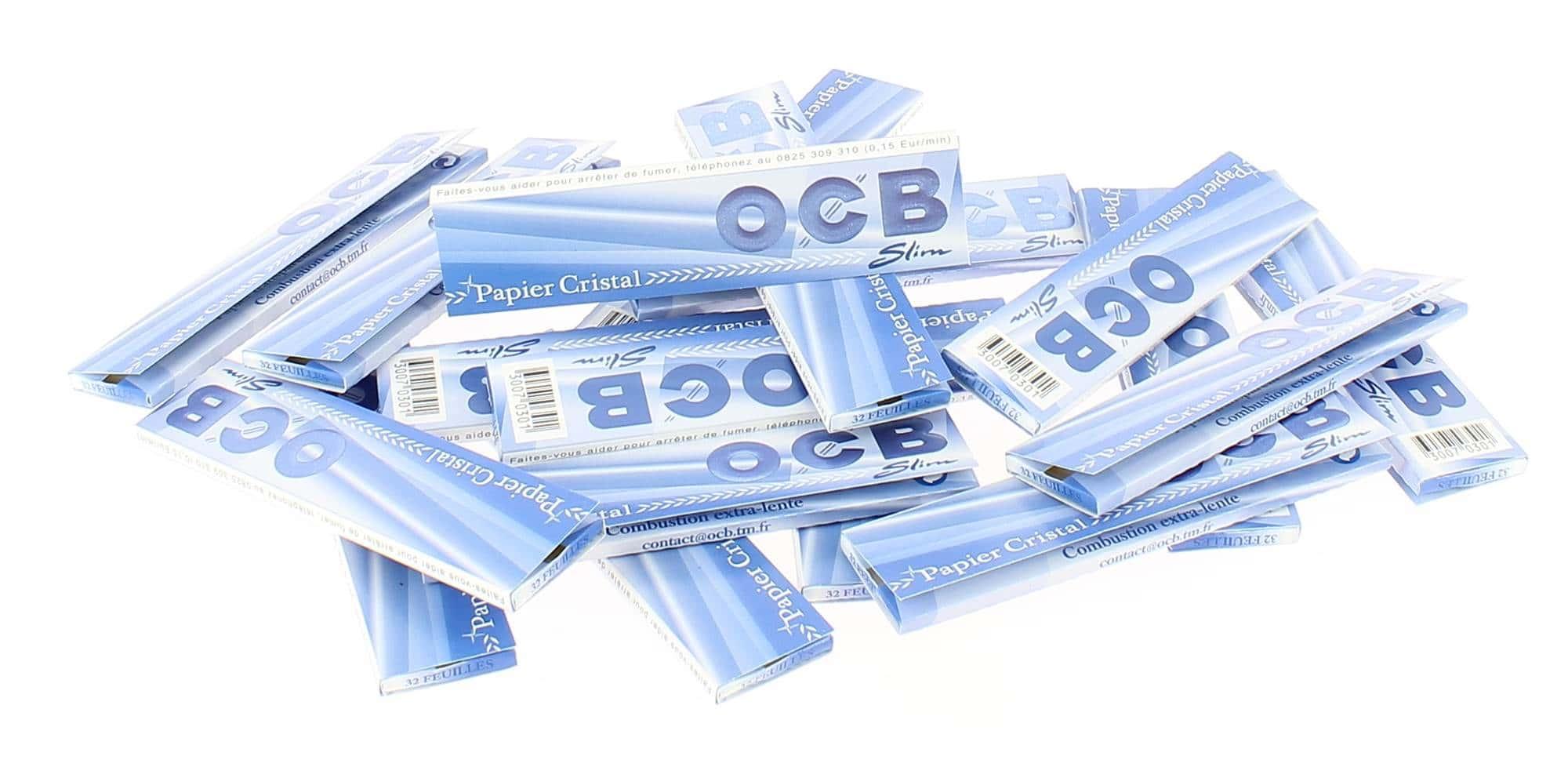 Photo de Papier à rouler OCB Slim Cristal x25