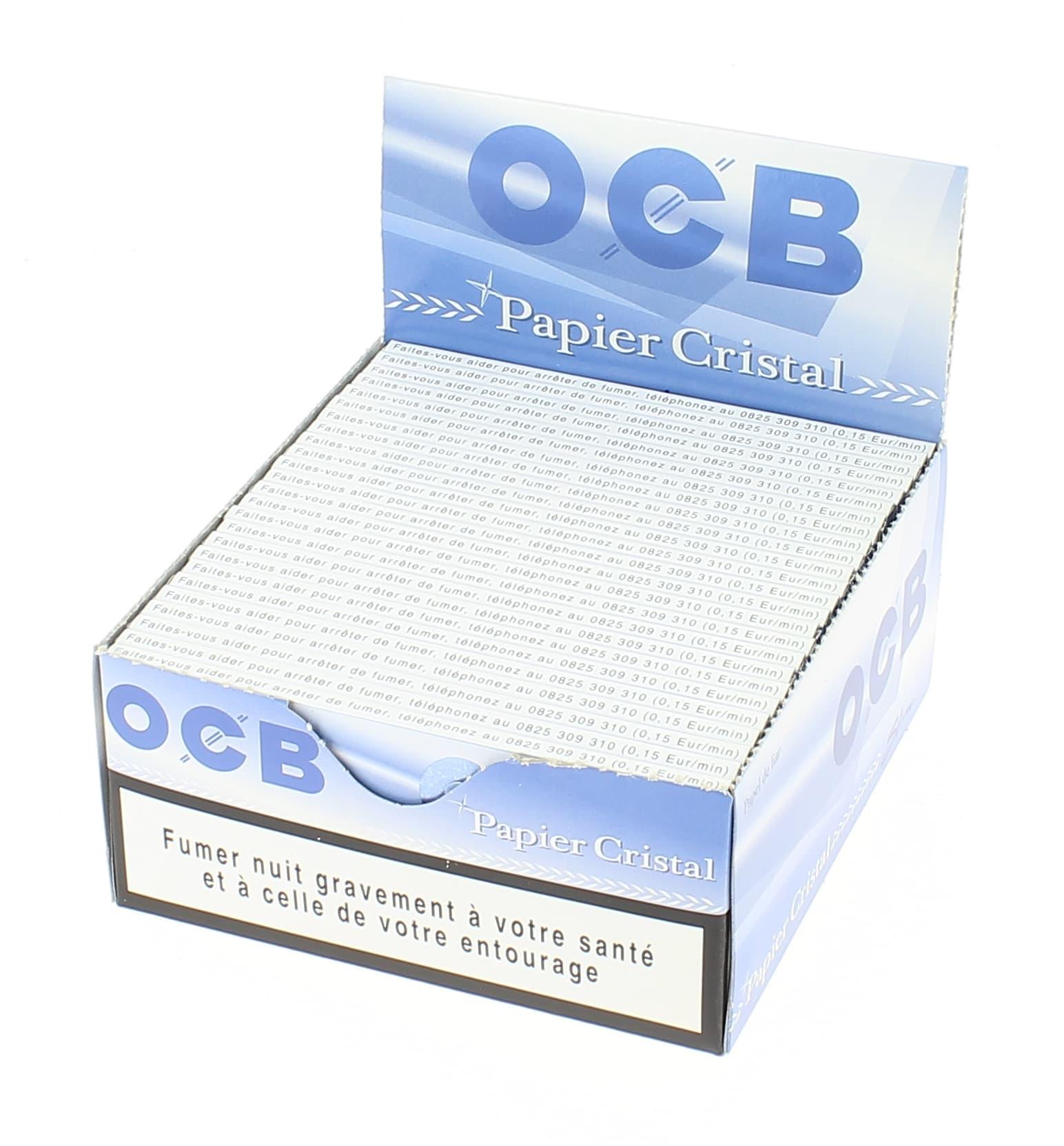 Photo de Papier à rouler OCB Slim Cristal x50
