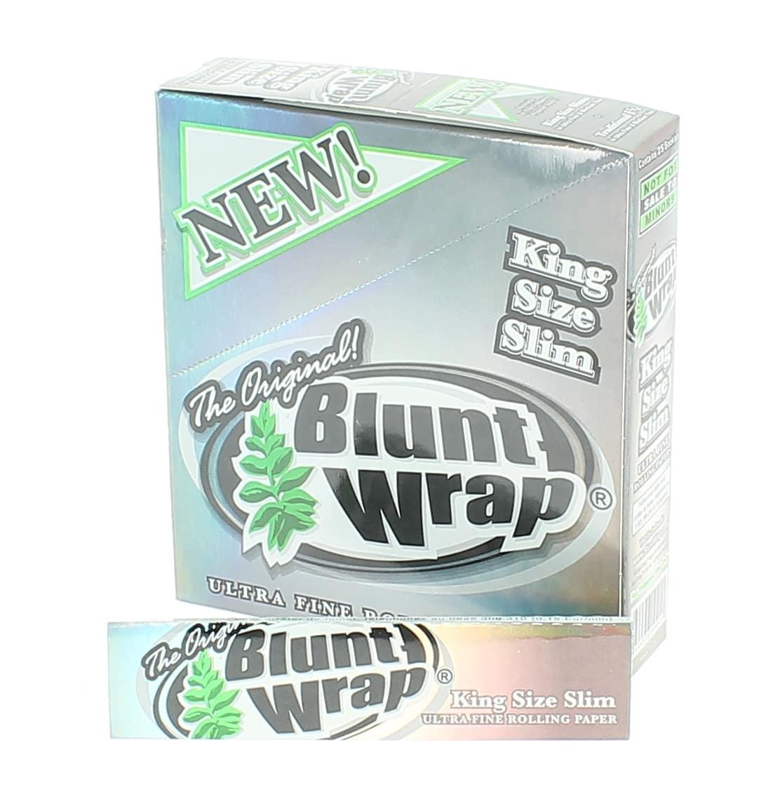 Photo de Papier à rouler Blunt Wrap Silver Slim x25