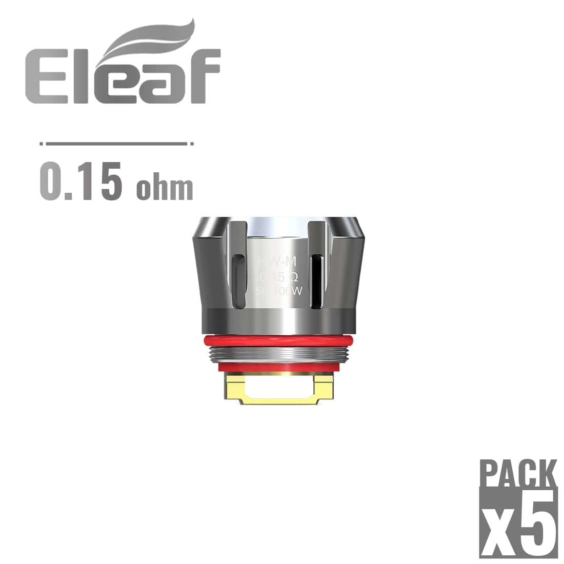 Photo de Résistance Eleaf Ello HW-M 0.15 Ω pack de 5