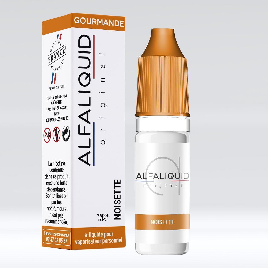Photo de Eliquide Alfaliquid Noisette