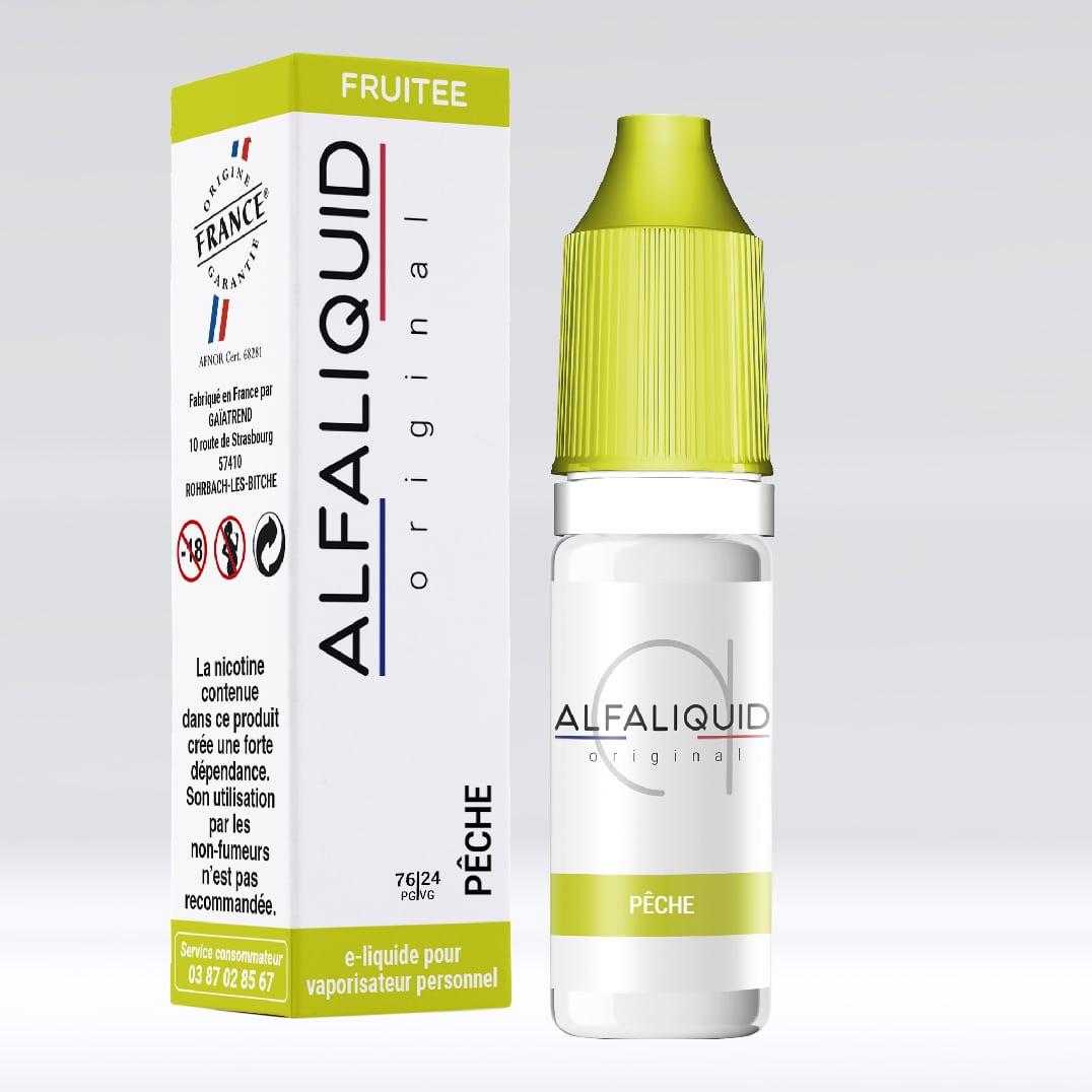 Photo de La Bonne Affaire - Eliquide Alfaliquid Pêche 6 mg
