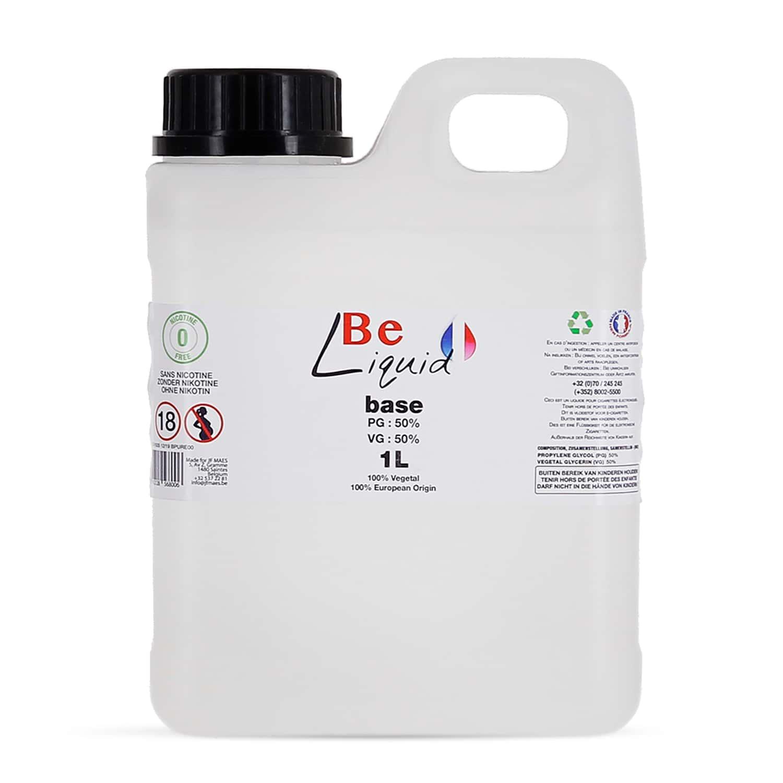 Photo de Base e liquide Be Liquid DIY 1L PG/VG 50/50