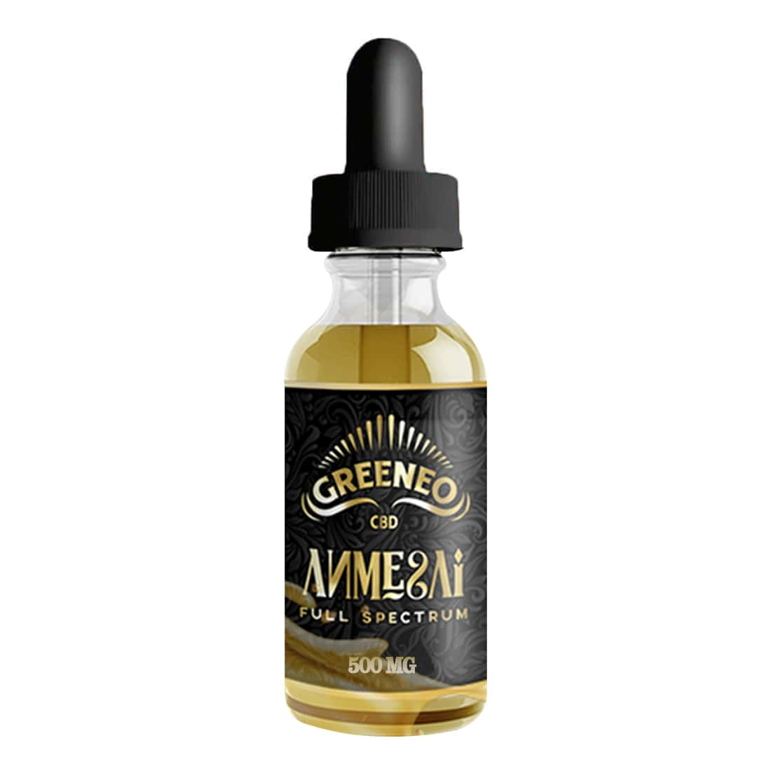 Photo de CBD E liquide Greeneo Anmesai 500mg