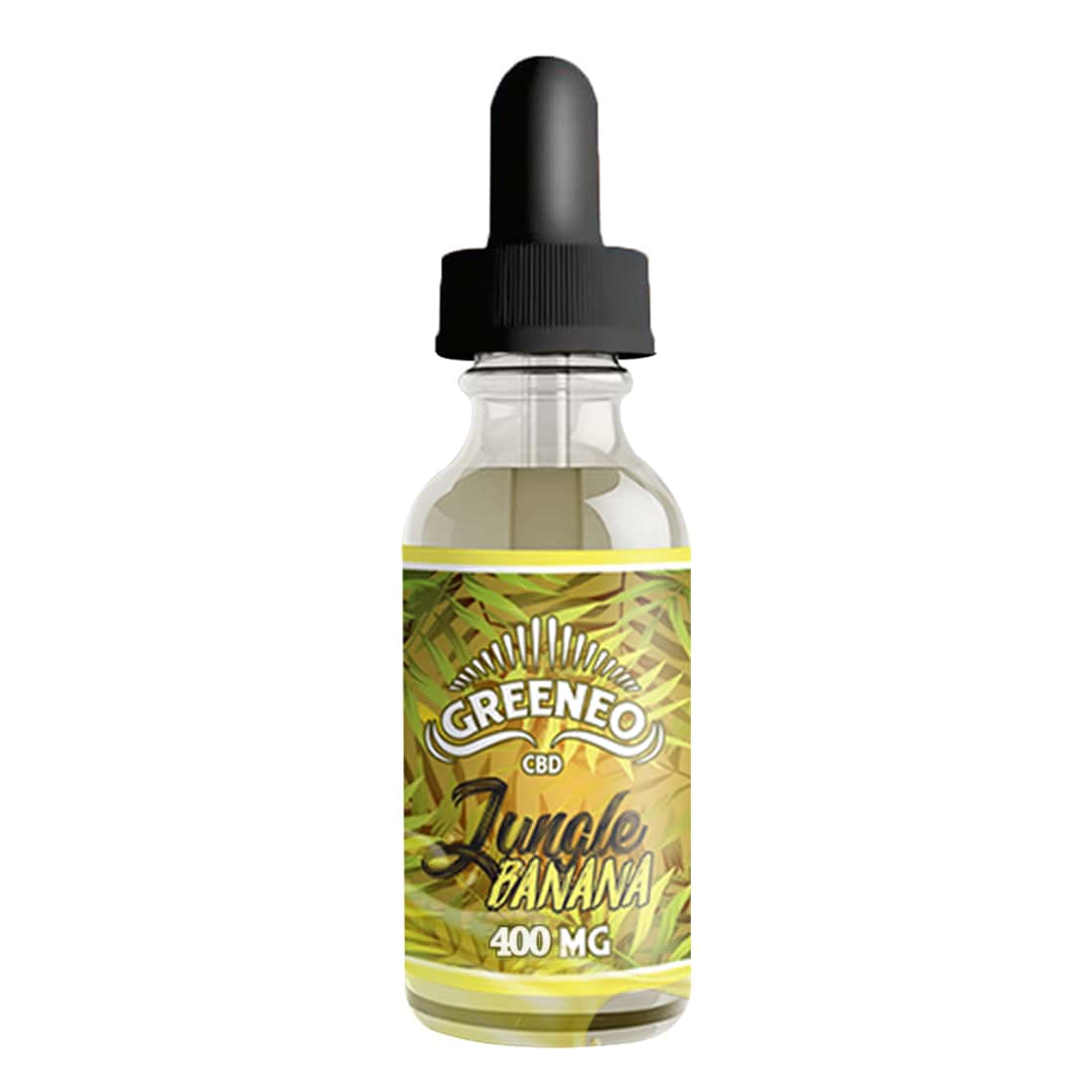 Photo de CBD E liquide Greeneo Jungle Banana 400mg