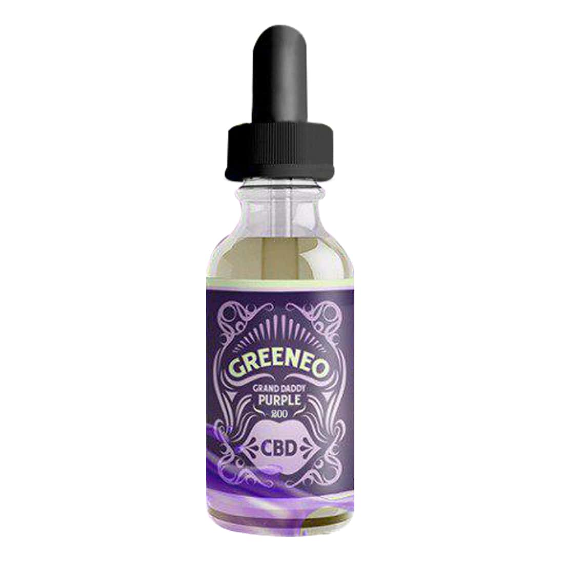 Photo de CBD E liquide Greeneo Grand Daddy Purple 200mg