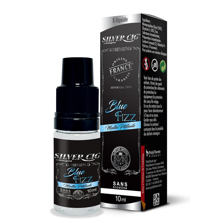 Photo de E liquide SilverCig Blue Fizz Premium