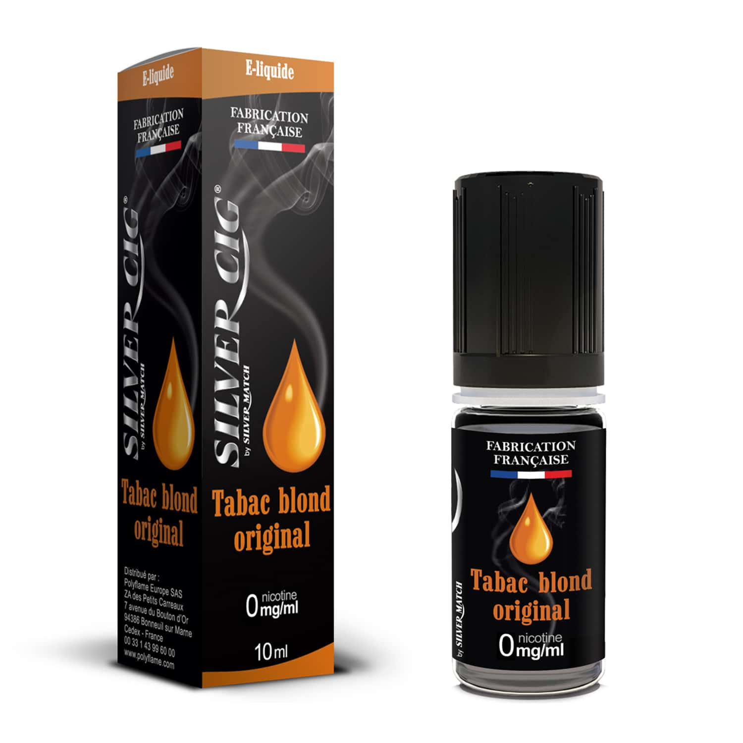 Photo de E liquide SilverCig Tabac Blond Original