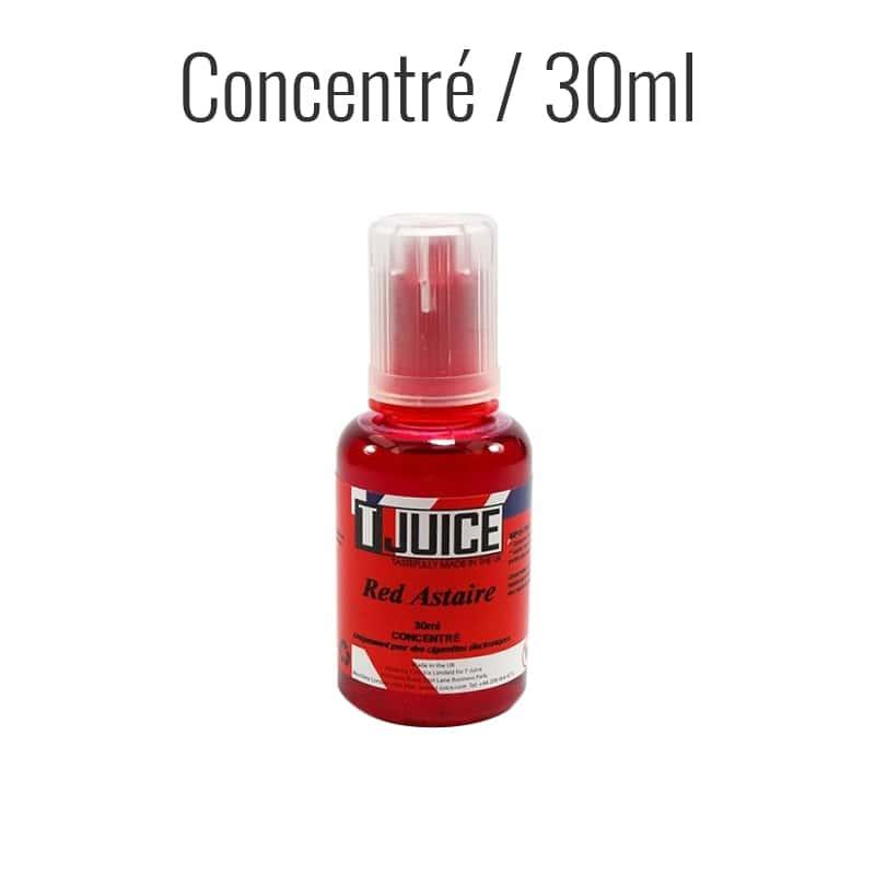 Photo de T-Juice Red Astaire 30 ml Arôme Concentré