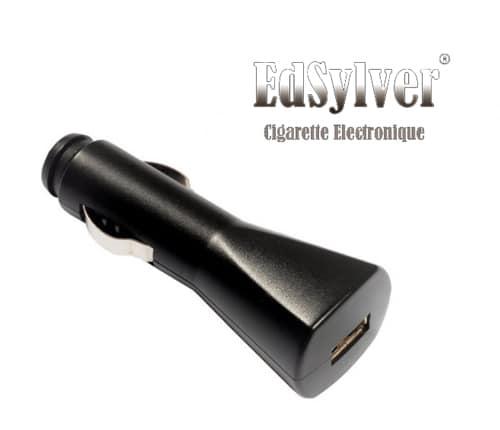 Photo de Chargeur de voiture pour cigarette électronique Edsylver