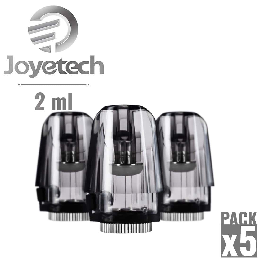 Photo de Cartouche Joyetech Exceed Edge 2 ml pack de 5