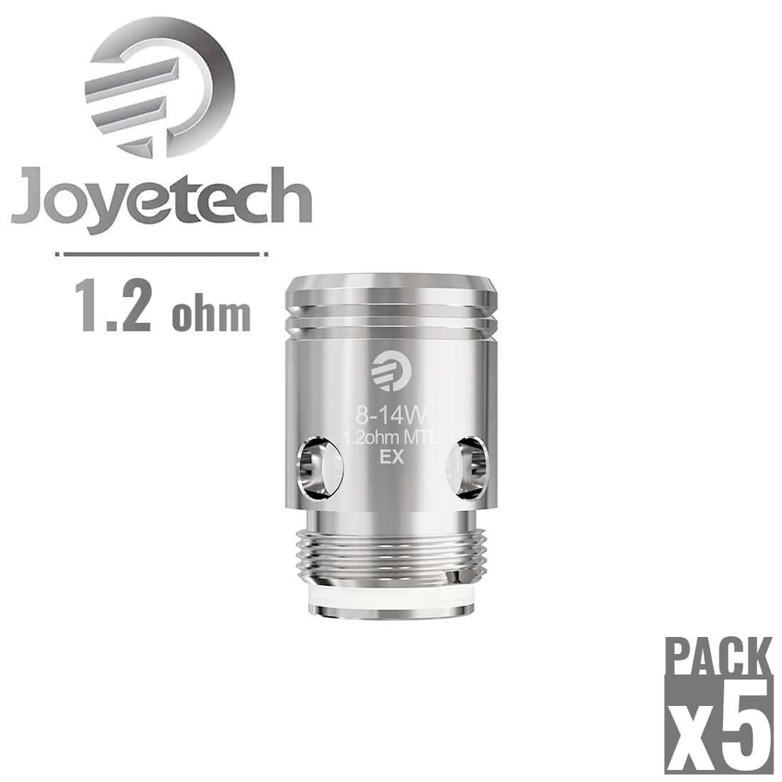 Photo de Résistance Joyetech EX 1.2 Ω pack de 5