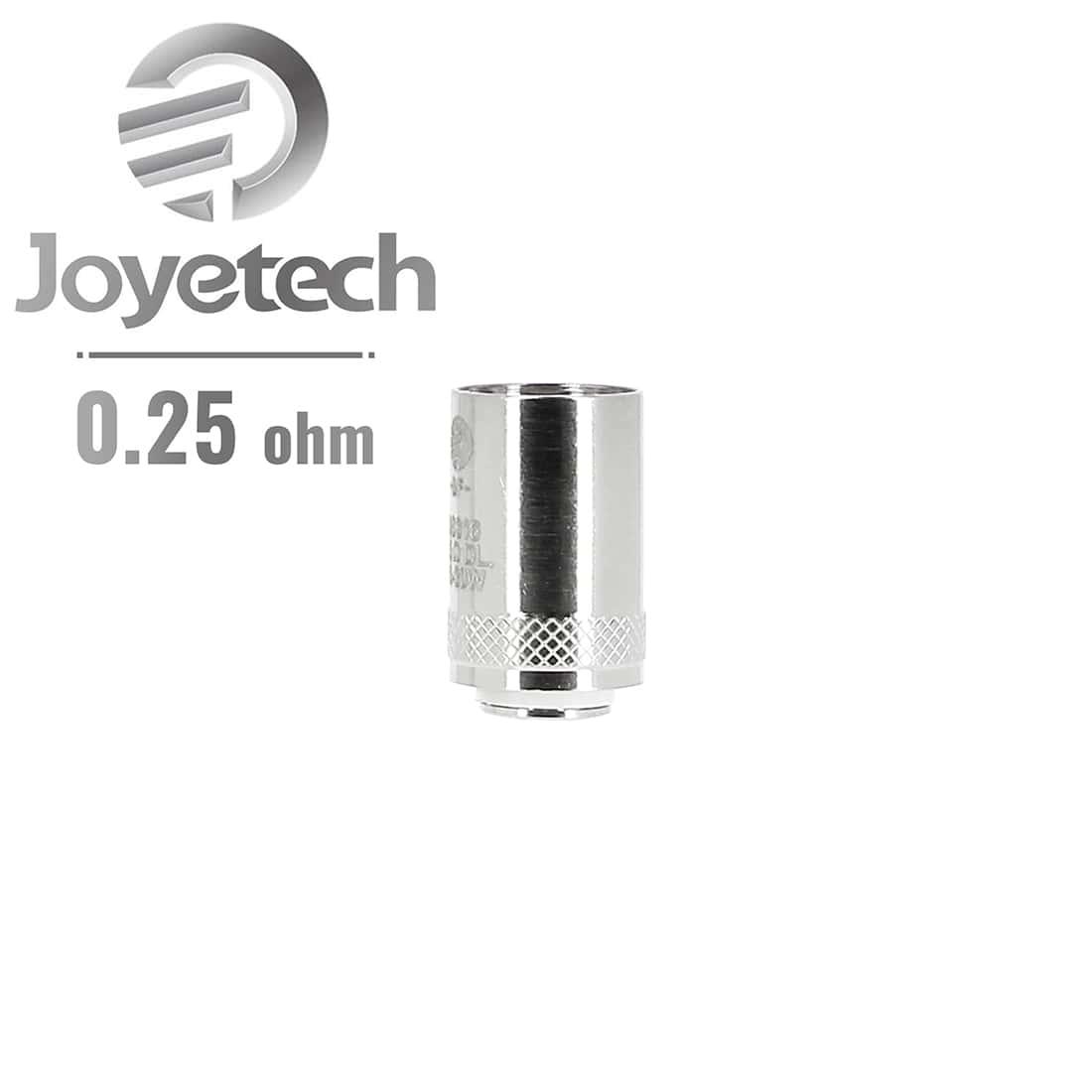 Photo de Résistance Joyetech NotchCoil 0.25 Ω pack de 5