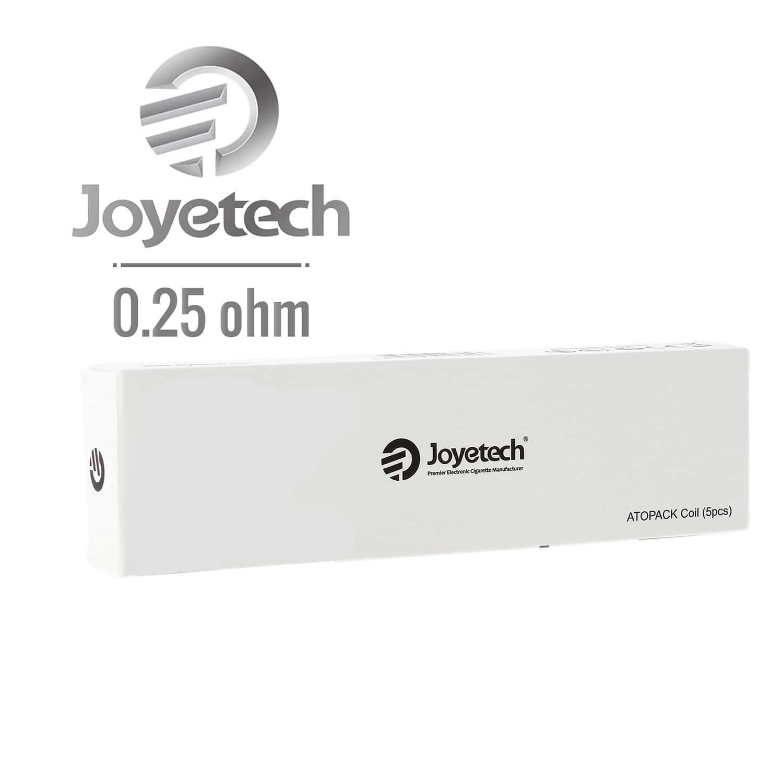 Photo de Résistance JVIC Joyetech Dolphin 0.25 Ω pack de 5
