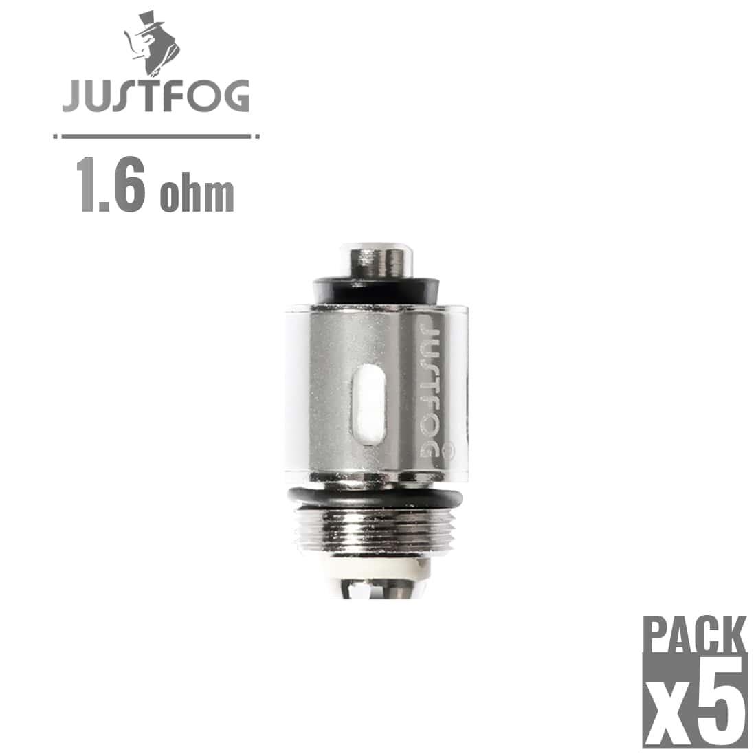 Photo de Résistance Justfog 1.6 Ω pack de 5