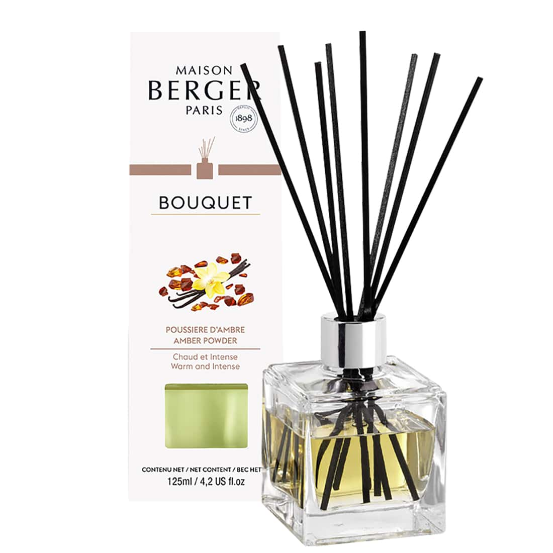 Photo de Bouquet Parfumé Maison Berger Poussière d'Ambre